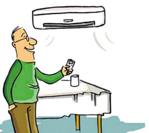 空调房使用