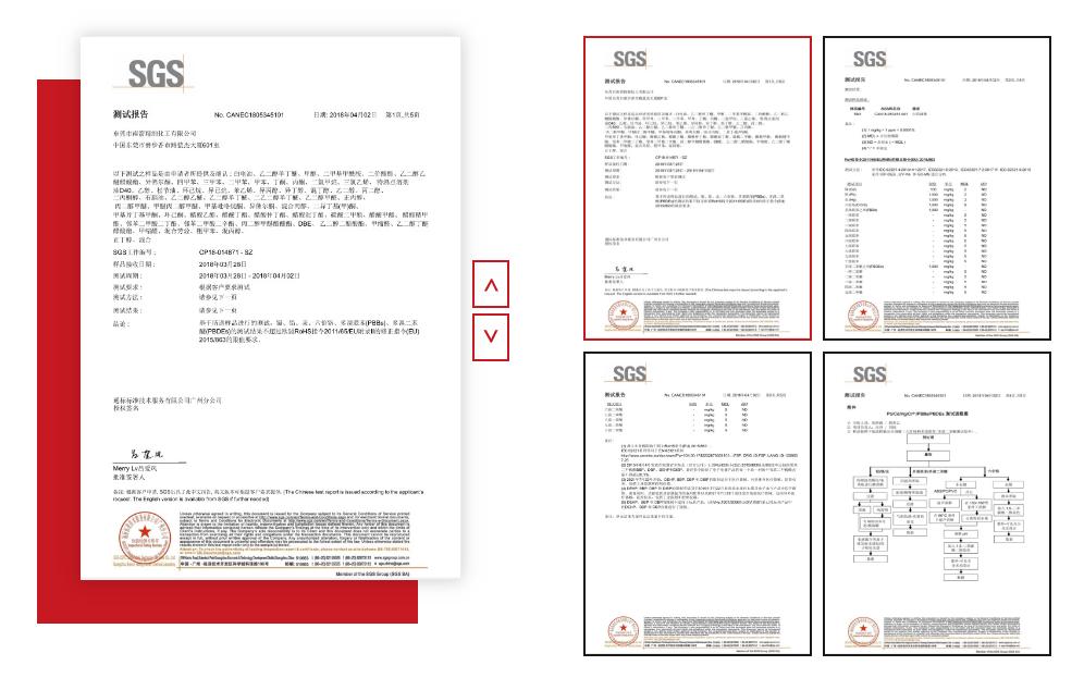 二甲基甲酰胺SGS报告